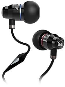 Monster 129457 Lil' Jamz ControlTalk Casque Intra-auriculaire HD + Micro Noir pour Ipod/Iphone