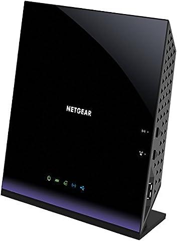 Netgear D6400-100PES Modem Routeur Wifi AC ADSL2+/VDSL