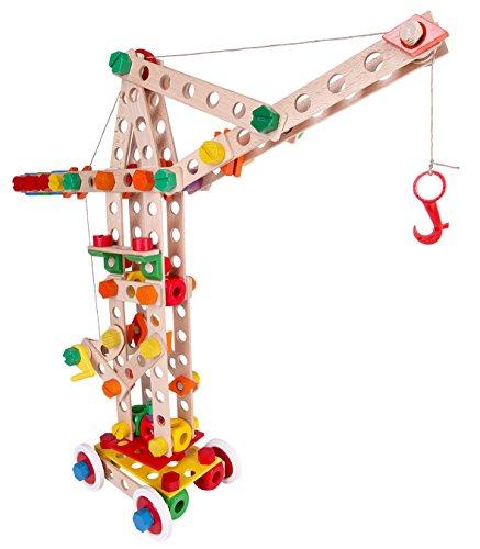 Baufix - Super Crane, grúa, 158 Piezas (Carrera 13110420)