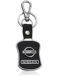 Kolossalz Nissan Black Leather Brand New Keychain For Car Men Boys