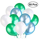 NUOLUX 3,2 g 50pcs perla globos látex globos para boda cumpleaños...