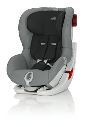 Preisvergleich Produktbild britax-romer 2000022570King II LS Autositz, grau (Steel Grey)