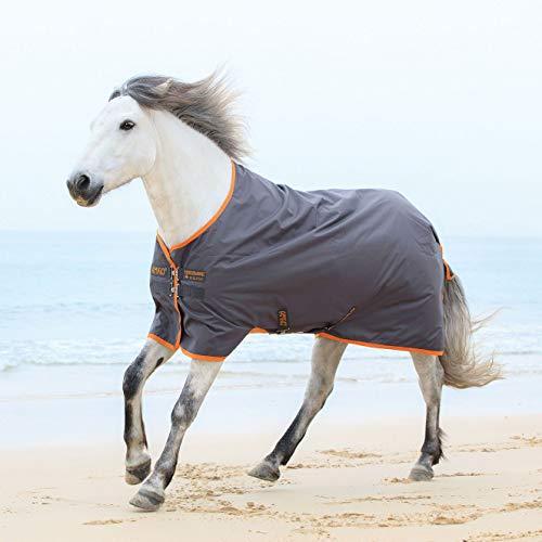 Horseware Amigo Turnout Hero 6 lite Excalibur orange Regendecke (125)
