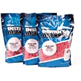 Nash Instant Action Boilies 1kg 20mm Crab and Krill + 5 Gratis Pop Ups Boilie Boilies Karpfenköder