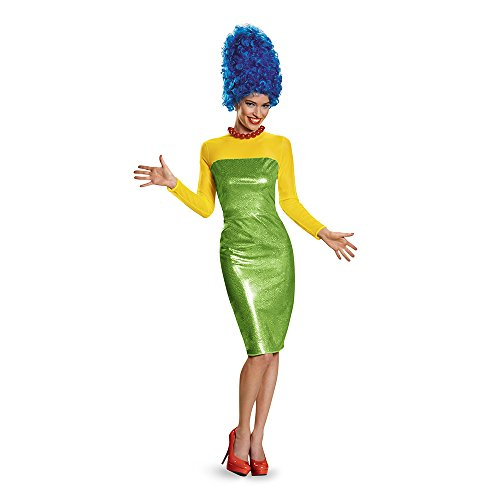 The Simpsons Marge Deluxe Costume Adult Small 4-6