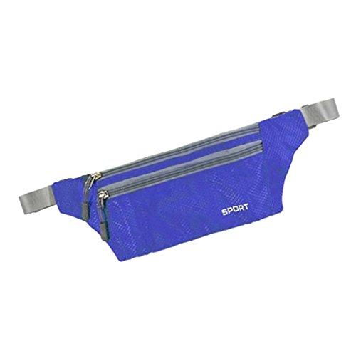 Sharplace Marsupi da Escursionismo Borsa Ciclismo Sportivo da Trekking Campeggio - Grigio Blu