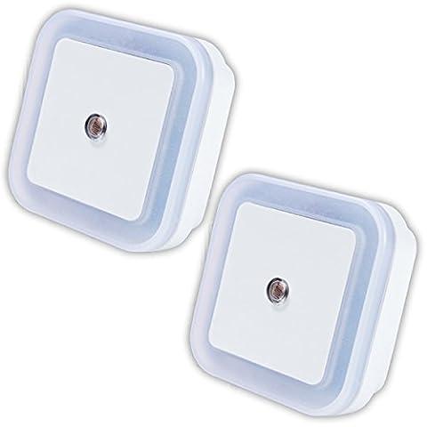 Plug-In LED Night Light, Kyerivs Auto Smart On / Off Children Safe lamp light Nursery Light with Dusk till Dawn Daylight