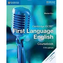 Cambridge IGCSE® First Language English Coursebook (Cambridge International IGCSE)