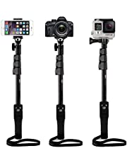 Unifree YT-1288-A Bluetooth Selfie MonoPod Stick Without Aux Cable for DSLR/SLR Action Camera, Smart Phones