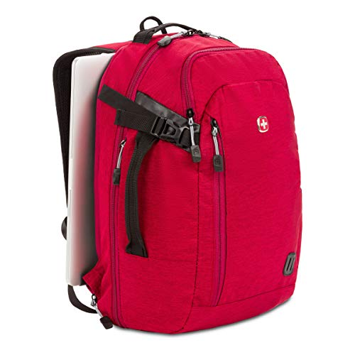 Swiss Gear Hybrid 21 Ltrs Red Laptop Backpack (3555431416) Image 5