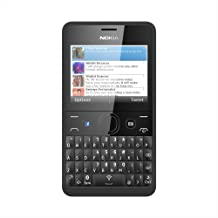 Nokia Asha 210 Sim Free Mobile Phone - Black