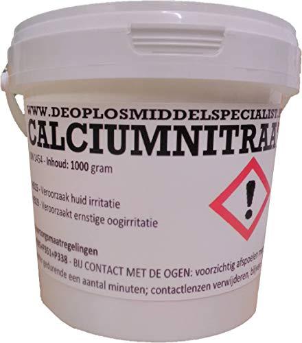 DE OPLOSMIDDELSPECIALIST Calciumnitrat Pentahydrat 1000gr (kalksalpeter, yara Liva CalcInit)