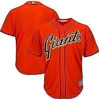 YQSB Ropa Deportiva de béisbol de Las Grandes Ligas de San Francisco Giants Ropa Bordada de béisbol,Red,Men-M