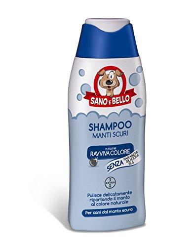 Bayer - Sano e bello - Shampoo Manti Scuri 1 Flacone 250,00 ml