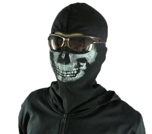 MW2 Ghost wind Skull mask (balaclava) skull / skeleton face mask / balaclava Call of Duty Call of Duty Modern Warfare 2 (CoD MW2) [amount-limited] (japan