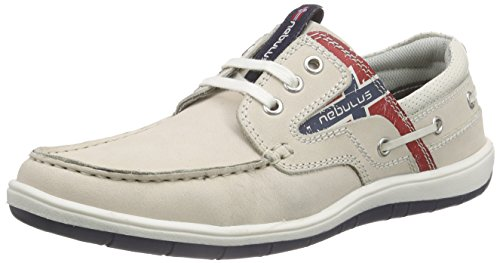 Nebulus Riva, Baskets Basses Homme Beige (off-white)