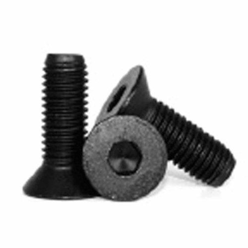 Metrisches M2x 5mm flachen Kopf-Gap-Schraube; schwarz; 10Stück von Carpenter Creek
