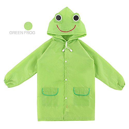 Sunshine D Funny Cartoon Raincoat, Children Cute Funny Cartoon Rain Gear Raincoat Unisex Animal Pattern Rainwear For 3-8 years old Kids