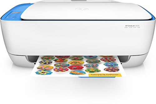 HP DeskJet 3639 All-in-One Printer - Multifonctions (A Jet d'encre Thermique, 4800 x 1200 DPI, 60...