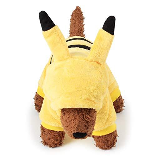 Kigurumis de León, Tigre, Piggy, Reno, Vaca, Panda, Gatito, Pikachu, Totoro y Dinosaurio Para Perros