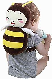 غطاء رأس الطفل قابل للتعديل بتصميم لطيف على شكل نحلة، يحمي رأس الرضيع ومناسب للاطفال اثناء تعلم المشي
