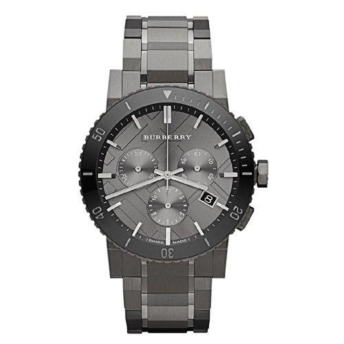 burberry-homme-42mm-chronographe-gris-acier-bracelet-boitier-montre-bu9381