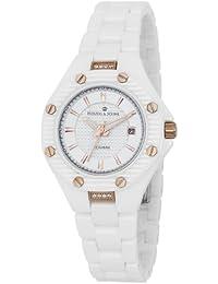 Herzog & Söhne Damen-Armbanduhr XS Analog Quarz Keramik HSV01-586