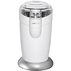 Clatronic 283023 KSW 3306 Kaffemühle mit Edelstahlmesser 120 Watt, weiß