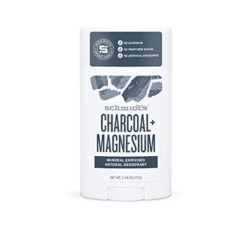 Schmidt's Deodorant Stick Charcoal & Magnesio, confezione da 2 (2 x 75 g)