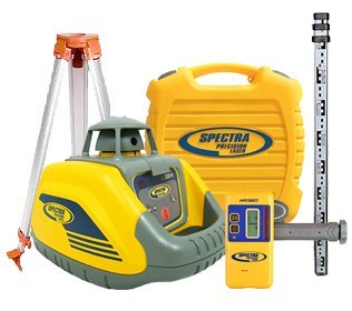 spectra-precision-ll100n-premium-laser-level-kit-including-hr320-detector-24m-staff-surveying-tripod
