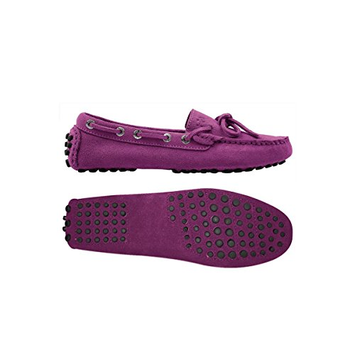Superga 463-SUEW S001VH0, Mocassins femme Multicolore - Grape