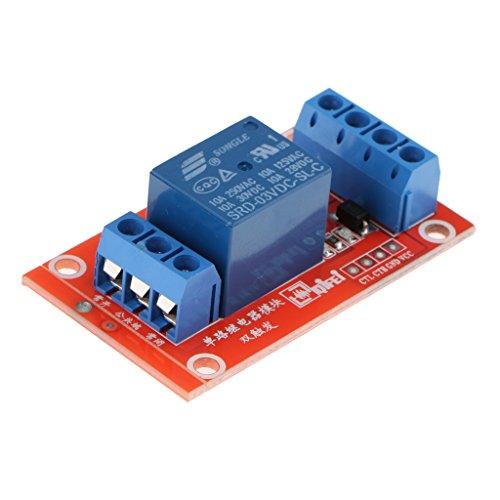 FITYLE 1-CH Relaismodul Modul-Relaiskarte Relais Modul-Brett für Arduino - 3v -