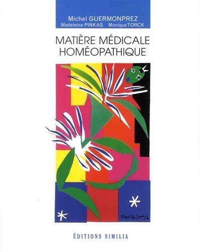 Matière médicale homéopathique PDF