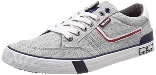 TOM TAILOR Herren 6980901 Sneaker, Grau (Grey 00011), 42 EU