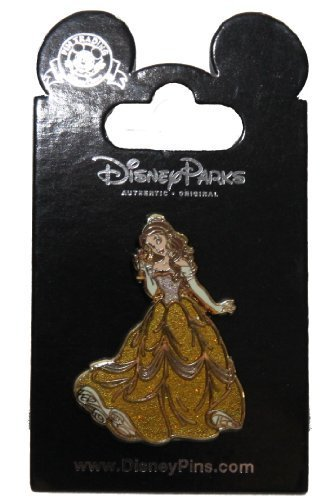 Disney Pin #93360: Princess Belle Glitter Dress (Beauty and the Beast) by Disney Pins -