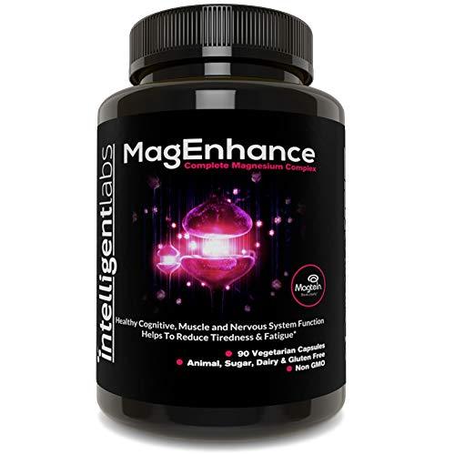 ★ MagEnhance Magnesium Nahrungsergänzungsmittel ★ Magtein Magnesium-L-Threonat-Komplex ★ Mit Magnesium-Glycinat und Taurat ★ 100% Geld-zurück-Garantie! ★ Magnesiumtabletten