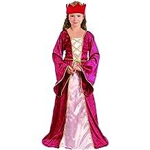 Disfraz de reina medieval para niña 7 à 9 ans