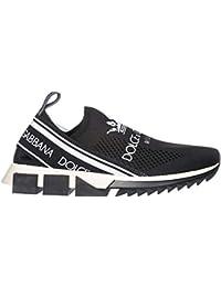 Dolce   Gabbana Herren Mokassins Slip On Sneakers Sorrento Schwarz 6e754a36ad