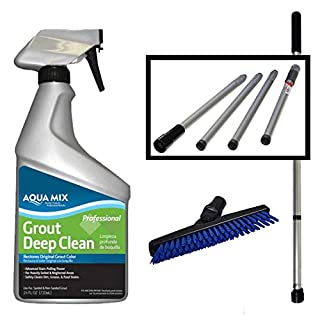 SYR Grout Cleaning Angled Brush and Grout Cleaner
