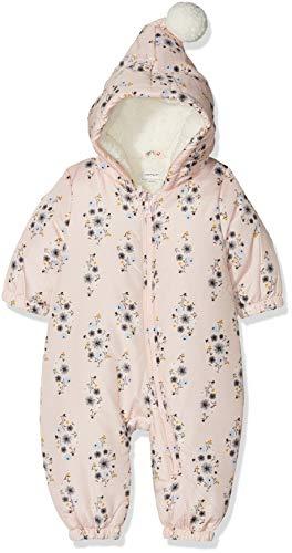 NAME IT Baby-Mädchen NBFMIR Suit Schneeanzug, Mehrfarbig Strawberry Cream, 62