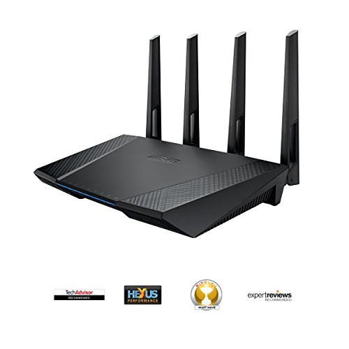 Deals For ASUS RT-AC87U AC2400 Dual-Band Gigabit Wireless Router, Access Point Mode, Dual-Processor + Dual-Core CPU, USB 3.0, Time Machine, 3G/4G Dongle Support Special