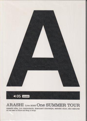 ARASHI Tormenta Live 2005 folleto Una gira de verano (jap?n...