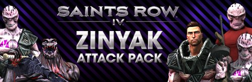Saints Row 4 Zinyak Attack Pack DLC