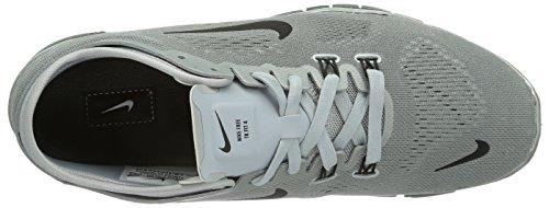 Nike Free 5.0 Tr Fit 4 Reflective, Chaussures de sports extérieurs femme Gris (Reflect Silver/Black-Wolf Grey)