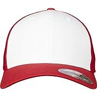Flexfit Mesh Colored Front Unisex Kappe für Damen und Herren