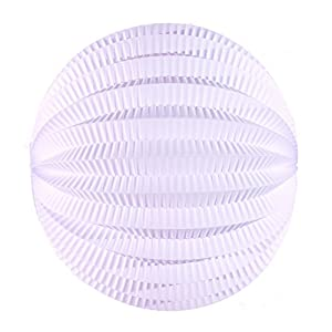 Tim & Puce 50212M - Farolillos Redondos (20 cm), Color Blanco