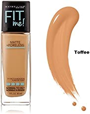 Maybelline Fit Me Matte+Poreless Foundation (330-Toffee) 30ml with Ayur Product in Combo