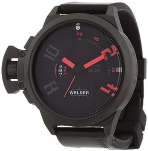 Welder -3103 K24- Montre Homme - Quartz Analogique - Bracelet Caoutchouc Noir