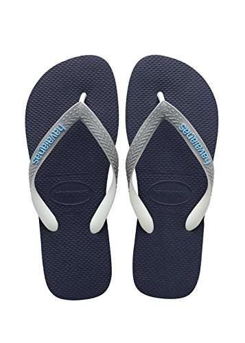 Havaianas Kinder Flip Flops Top Mix, Mehrfarbig (Navy Blue/Steel Grey 9483), 27/28 EU (25/26 Brazilian) (Blue Kinder Flop Flip)