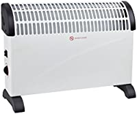 Oypla Premi 2 KW Convector Heater - Wall Mounted Or Free Standing